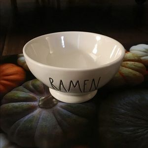 Rae Dunn Ramen Bowl.
